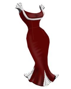 red,retro,rockabilly,polkasotdress