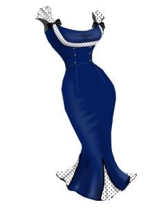 retro,rockabilly,polkadot,blue,dress,plussizedress,plussizerockabillydress,plussizeretrodress