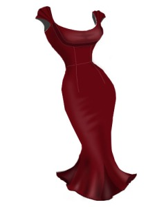 rockabilly,retro,red,dress,pleated