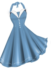 babyblue,retro,rockabilly,dress