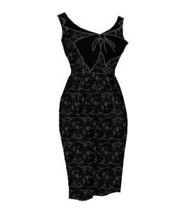 lacedress,black