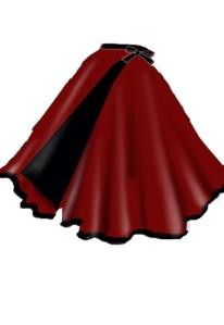 rockabilly,retro,wrapskirt,red