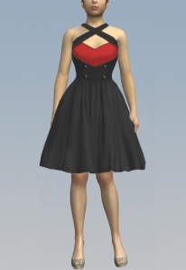 Rockabilly,red,dress