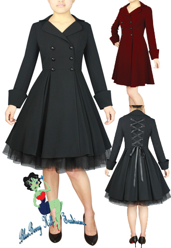 rockabilly,coat,pinterest