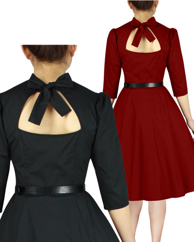 rockabilly,retro,dress,reda