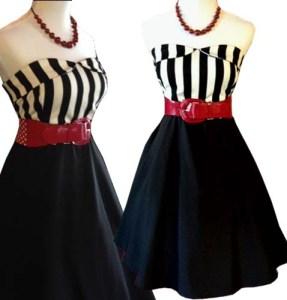 striperetrodress-pinupdress-pinupclothing