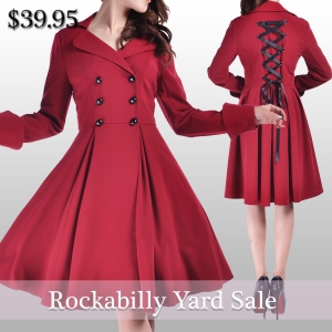 rockabilly coat-coat-plussizecoat