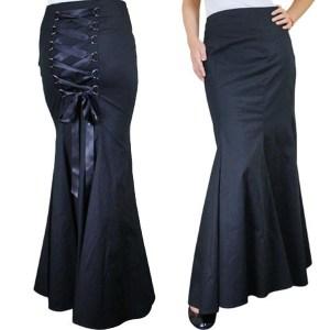 gothicskirt-plussizeskirt-blackcorsetskirt