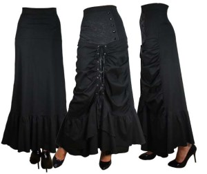 Gothicskirt-steampunkskirt-gothicclothing-plussizeclothing