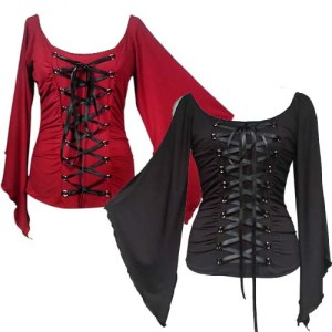 gothictop,gothicclothing.plussizegothic,corsetlacedtop