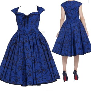 rockabilly-dress-retro-dress-pinup-dress