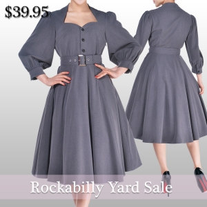 rockabilly -retro-retro dress- rockabilly dress