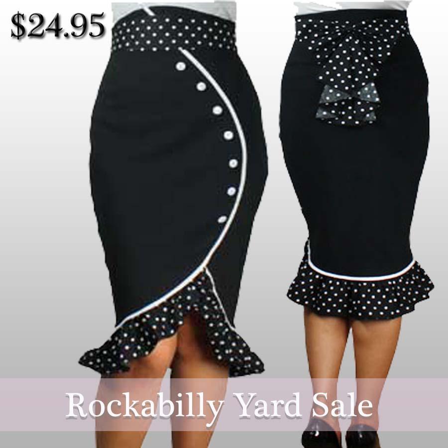 rockabilly yard sale 60 dresses skirts jackets