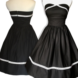 Black-pinup-dress-plus-size-rockabilly - Copy