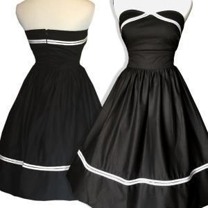 Black-pinup-dress-plus-size-rockabilly - Copy