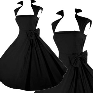 black-pinup-dress-rockabilly-clothing - Copy