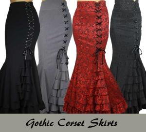 gothicmermaidskirt