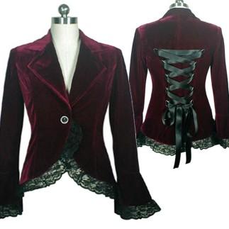 burgundy-velvet-jacket