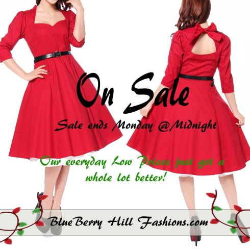 cyber-monday-black-friday-rockabilly-dress