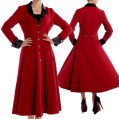 red-coat-velvet-coat-winter-coat-plus-size-coat