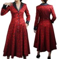 red-jacquard-coat