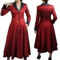 red-jacquard-coat