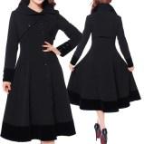 rockabilly-coat-steampunk-coat-goth-coat-velvet coat