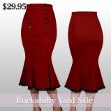 rockabillyskirt-retroskirt-redskirt-pencilskirt-mermaidskirt