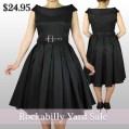 rockabillywholesaledress-rockabillydress-blackdress