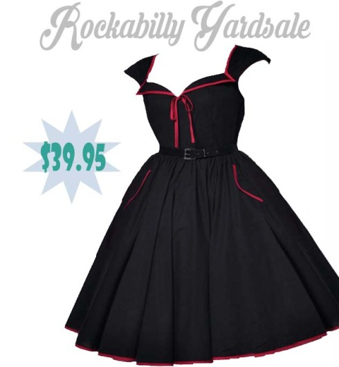 blackandredpinupdress