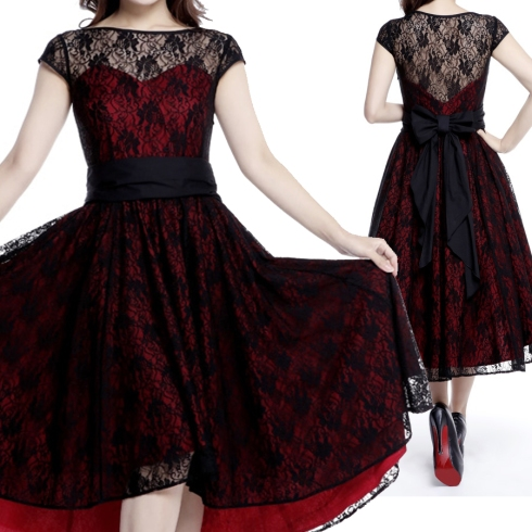 1950s- Retro-Rockabilly dress