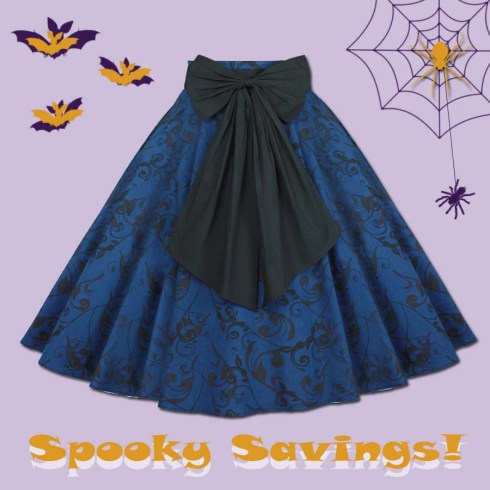 halloweenskirt-pinupskirt-retroskirt-wholesale-clothing
