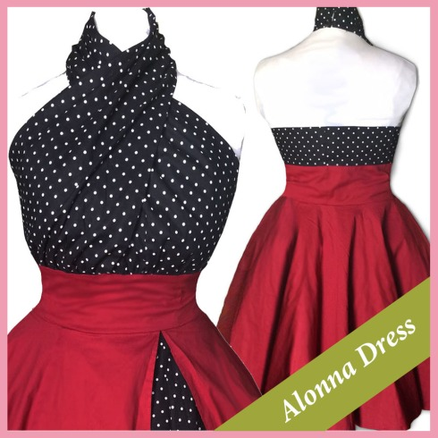 retro-dress-pinup-dress-rockabilly-dress-vintage style